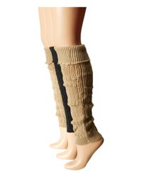 Steve Madden | Brown 3-pack Leg Warmer | Lyst