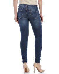Eunina - Blue Super Skinny Ankle Jeans - Lyst