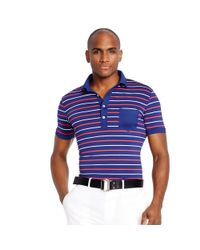 Ralph Lauren | Blue Slim-fit Polo Shirt for Men | Lyst