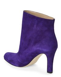 Manolo Blahnik - Purple Khomotri Ankle Boots - Lyst
