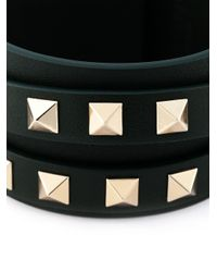 Valentino - Green 'rockstud' Bracelet - Lyst