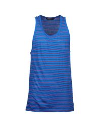 Marc By Marc Jacobs - Blue Sleeveless T-shirt for Men - Lyst
