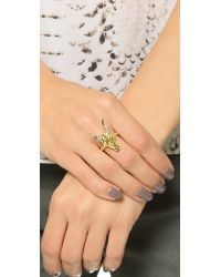 House of Harlow 1960 | Metallic Turkana Ring - Gold | Lyst