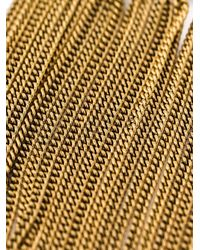 Rosantica   Metallic Multiple Chain Necklace   Lyst