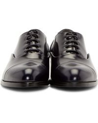 Robert Clergerie - Purple Leather Pier Oxfords - Lyst