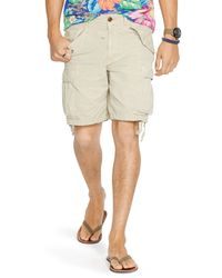 Ralph Lauren | Natural Polo Ripstop Cargo Shorts - Classic Fit for Men | Lyst