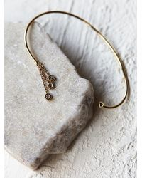 Free People | Metallic Hanging Diamonds Ear Cuff | Lyst