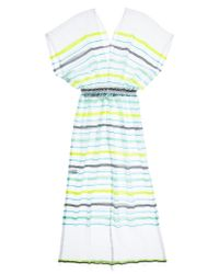 lemlem | Blue Lelaga Patio Dress | Lyst