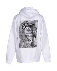 Stussy - White Sweatshirt for Men - Lyst