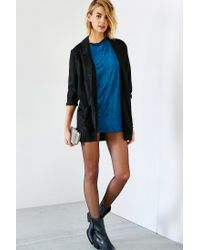 Glamorous | Blue Faux Suede Tunic | Lyst