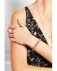 Chan Luu - Natural Pearl, Swarovski Crystal And Suede Bracelet - Lyst