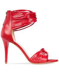 Nine West - Red Dechico Two-piece Dress Sandals - Lyst
