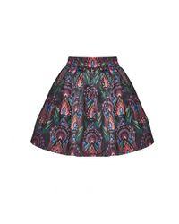 Alice + Olivia - Multicolor Stora Pouf Skirt - Lyst