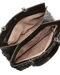 Bottega Veneta | Black Shoulder Bag | Lyst