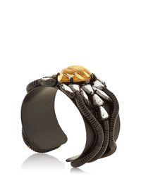 DANNIJO | Black Aviva Cuff Bracelet | Lyst