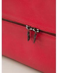Isaac Reina | Red Zipped Wash Bag | Lyst