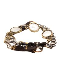 Beth Orduna - Metallic Button Pearl Necklace - Lyst