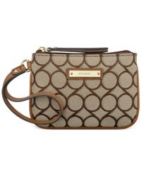 Nine West | Natural Pick A Pocket Small Wristlet | Lyst