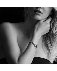 David Yurman - Bracelet With Black Onyx And Diamonds - Lyst