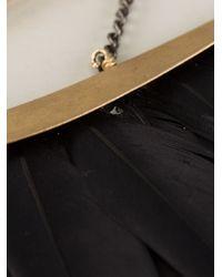 Katerina Psoma - Black Feather Neckpiece - Lyst