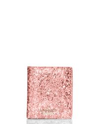 Kate Spade | Pink Glitter Bug Small Stacy | Lyst