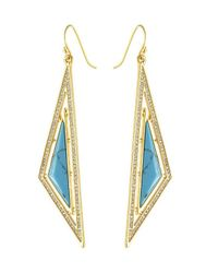 CC SKYE | Metallic Oasis Earrings | Lyst