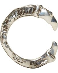 Pamela Love | Metallic Sterling Silver Bird Talon Ring | Lyst