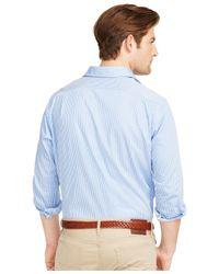 Polo Ralph Lauren   Blue Striped Twill Estate Shirt for Men   Lyst