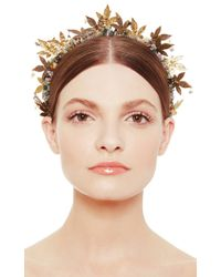 Masterpeace - Brown Maple Leaf Headband - Lyst