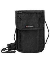 Victorinox | Black Swiss Army Deluxe Concealed Security Pouch With Rfid Protection | Lyst