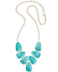 Kendra Scott | Blue Harlie Necklace | Lyst