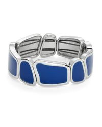 kate spade new york | Play To The Gallery Blue Stretch Bracelet | Lyst