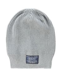Replay - Gray Cotton Beanie Hat for Men - Lyst