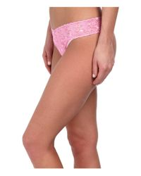 Hanky Panky | Pink Dorothy Dot Orignal Rise Thong | Lyst