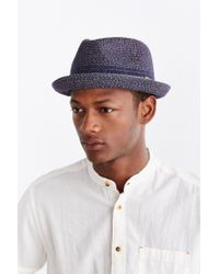 Bailey of Hollywood - Blue Vito Fedora Hat for Men - Lyst