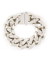 Givenchy - Metallic Chunky Chain Bracelet - Lyst