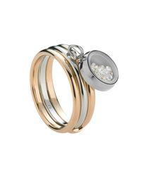 Storm | Metallic Rose Gold Mimi Ring | Lyst