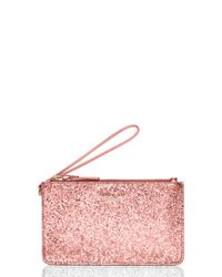 kate spade new york | Pink Glitter Bug Slim Bee | Lyst