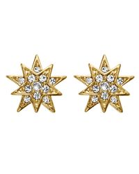Dyrberg/Kern | Metallic Electra Earrings | Lyst