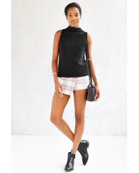 Truly Madly Deeply | Black Cropped A-line Tank Top | Lyst