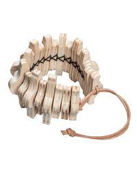 Hring Eftir Hring - Natural Spine Bracelet - Lyst