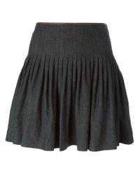 Polo Ralph Lauren - Gray 'clarissa' Skirt - Lyst