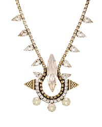 Lionette | Metallic Gizele Necklace | Lyst
