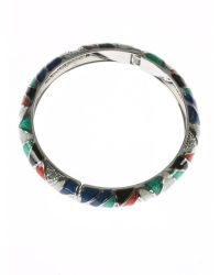 Indulgence Jewellery | Multicolor Multi Colour Round Bangle | Lyst