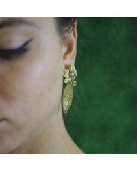Wendy Yue - Metallic Rutilated Quartz Earrings - Lyst