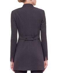 Akris Punto - Gray Ribbed Stretch-Jersey Jacket  - Lyst