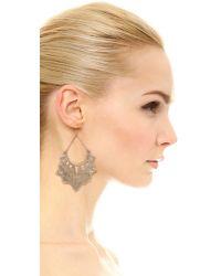 Pascale Monvoisin - Metallic Sweet Jane Earrings - Gold - Lyst