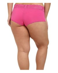 Cosabella - Pink Extended Size Never Say Never Cheekie Hotpant - Lyst