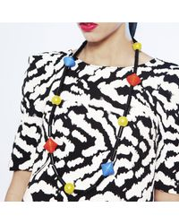 Scenery Label | Multicolor Primary Colour Bead Necklace | Lyst