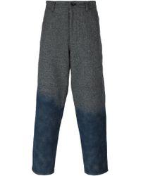 Comme des Garçons - Gray Gradient Trousers for Men - Lyst